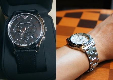 腕時計のブレスベルトと革(レザー)ベルト比較