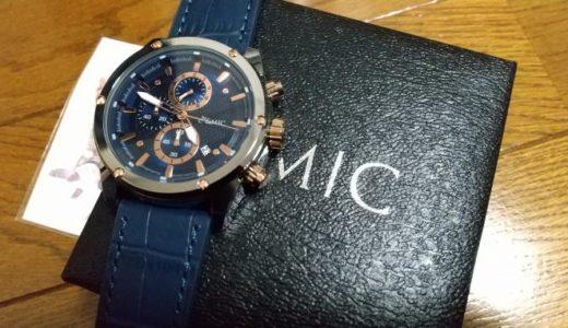 &MIC GC001腕時計の評価レビュー!低価格で高品質なメンズ商品
