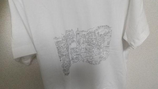 SUZURIで買ったしろねんこ氏のTシャツ