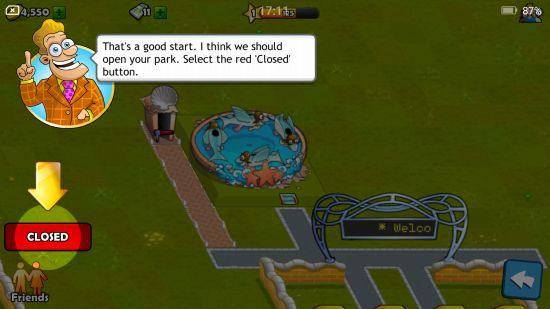 遊園地の開園時間