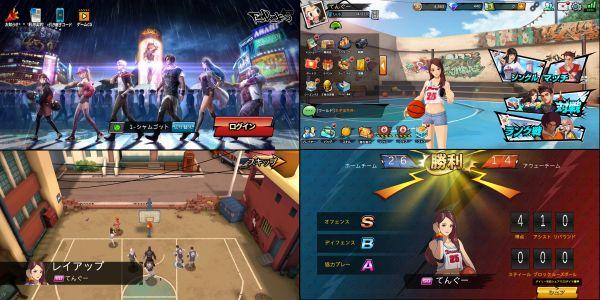 バスケットスマホゲーム『フィーバーダンク』の画像