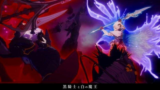 黒騎士と白の魔王アニメーション