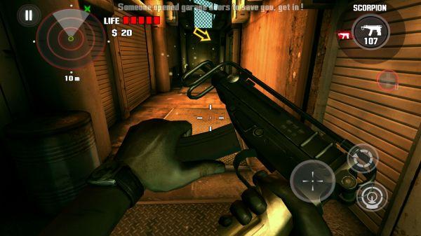 DEAD TRIGGER 銃のリロード