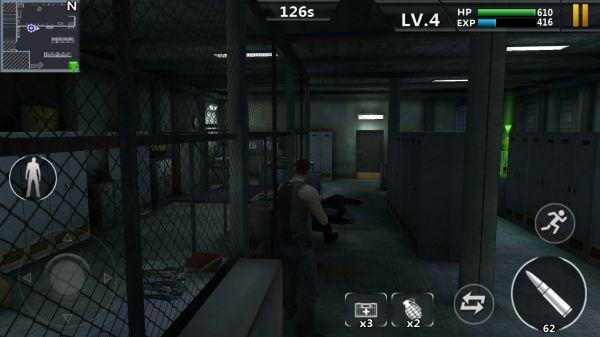 Prison Escapeの銃撃戦