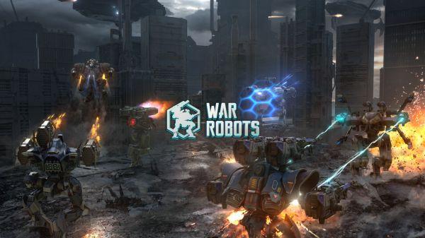 WarRobotのタイトル画面
