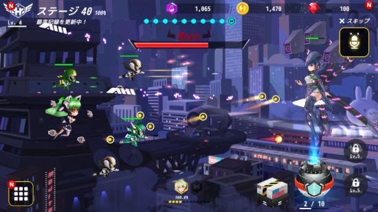 ヒーローボールZのステージボス戦闘