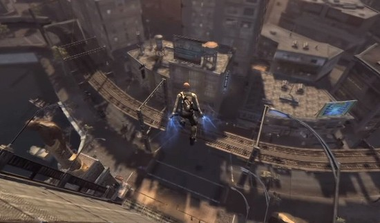 INFAMOUS 悪名高き男のゲーム画像