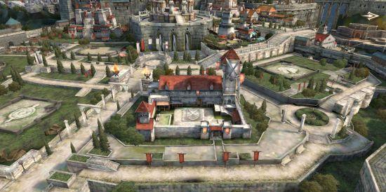 ゲーム・オブ・スローンズの街づくり画面