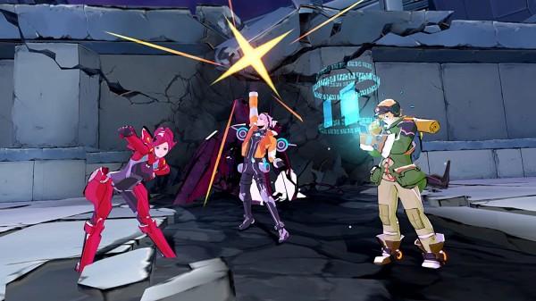 エクストルーパーズのゲーム画像