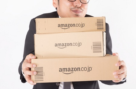 Amazonパントリーの段ボール箱