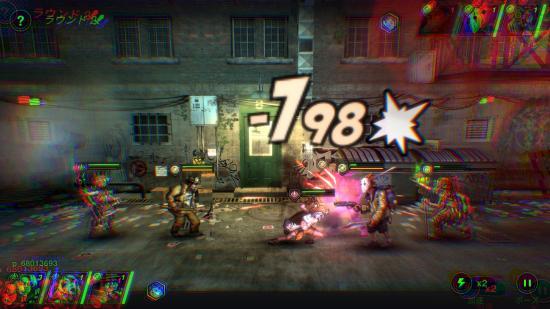 Battle Night RPGゲームアプリの戦闘