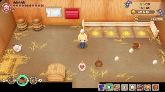 牧場物語 再会のミネラルタウンのゲーム画像