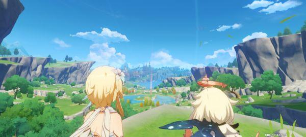 美しく広がる原神RPGの世界