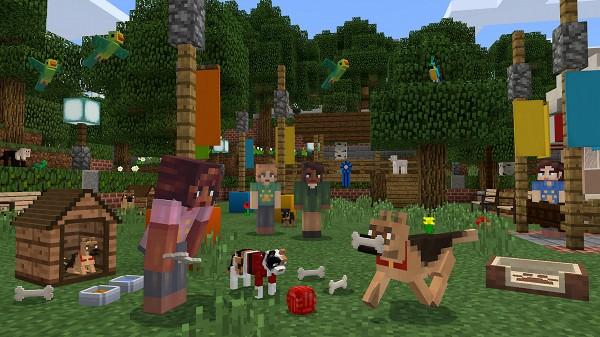 Minecraftの紹介画像