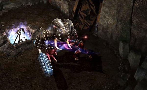 PS4版の鬼武者紹介画像