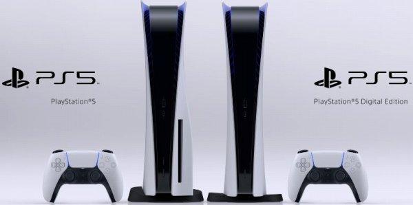 PS5の本体紹介画像