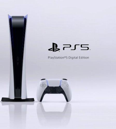 PS5のデジタルエディション版の画像