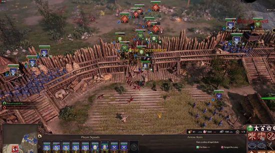 アンセスターズレガシーの戦闘画面