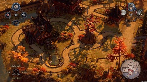 Shadow Tacticsのゲーム画像