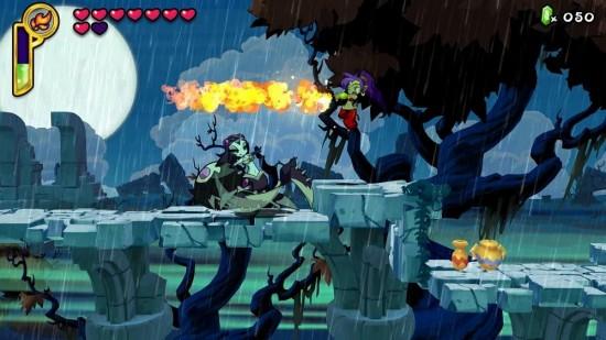 シャンティ:ハーフ・ジーニー ヒーローのゲーム画像