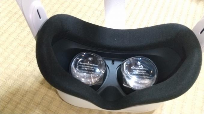 OculusQuest2の本体画像