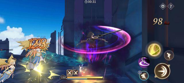 エデンの扉のゲーム画面