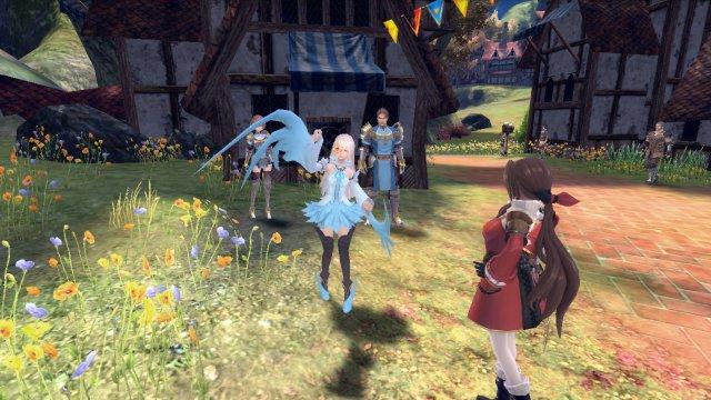幻想神域のゲーム画面