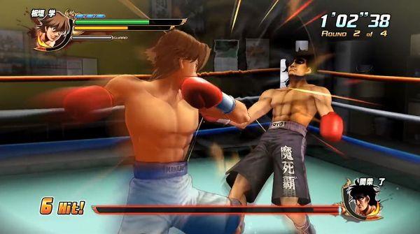 ボクシングゲーム・はじめの一歩の試合