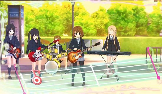 けいおん! 放課後ライブ! !PS3版のゲーム画像