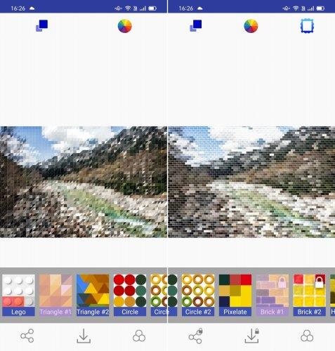 Pic2Pixを使って写真をドット絵変換した画像