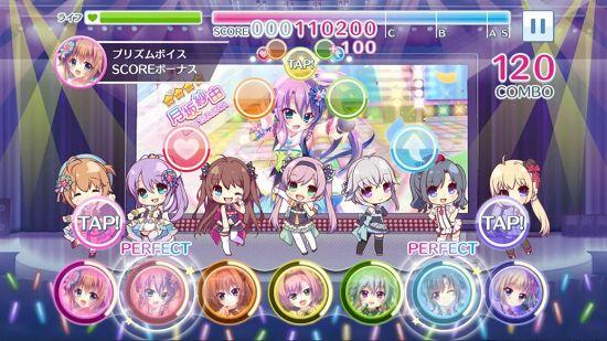 Re:ステージ!プリズムステップのステージ画面