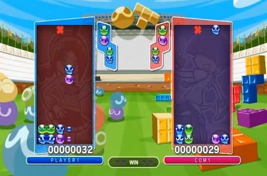 ぷよぷよテトリスPS3版のコンピューター戦