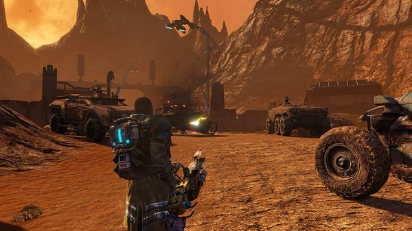 Red Faction Guerilla Re-Mars-Teredのフィールド