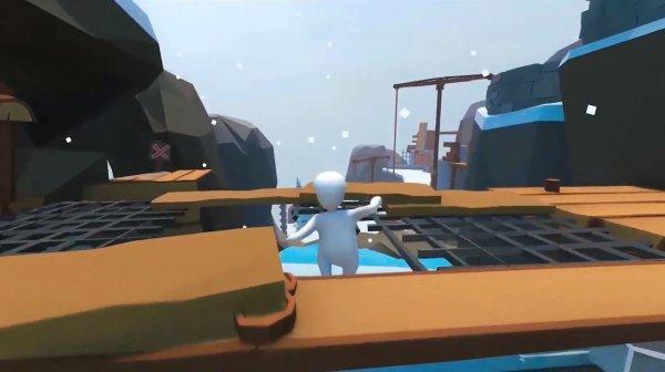 ヒューマンフォールフラットのゲーム画面