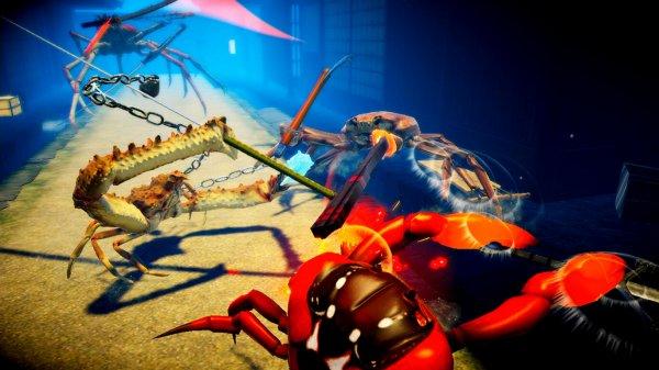 カニノケンカ -Fight Crab-のゲーム画像