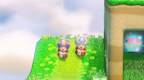 進め! キノピオ隊長の2人同時プレイ