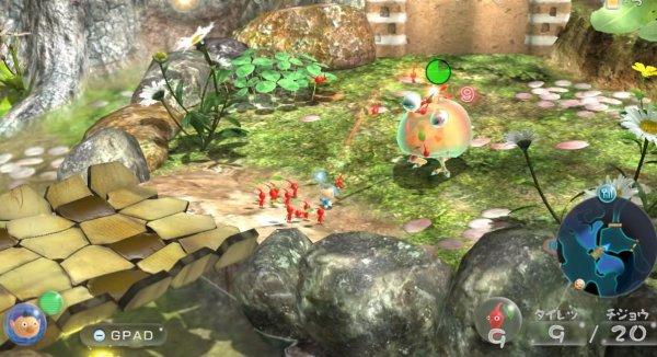 ピクミン3 デラックスのゲーム画像