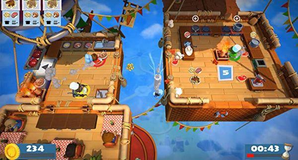 カップル・夫婦でプレイ中のオーバークック2