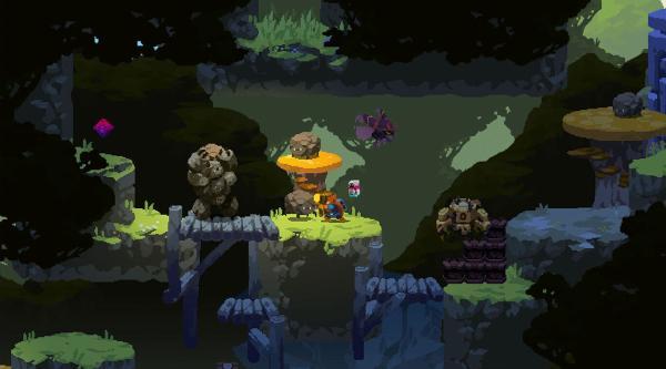 Aegis Defenderのゲーム画面