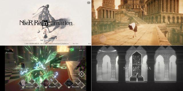 スマホRPG「NieR Re(in)carnation」の画像