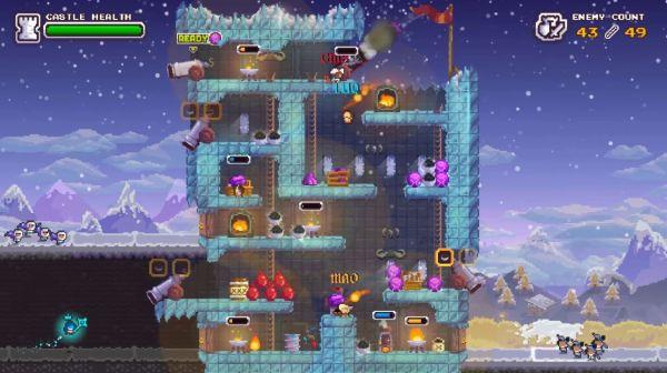 ノーヒーローズ・ヒアのゲーム画面
