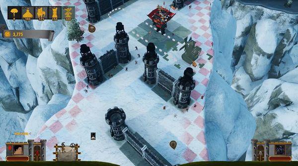 ロック・オブ・エイジス:メイク&ブレイクのゲーム画面