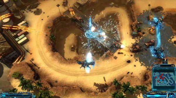 X-Morph: Defense Complete Editionのゲーム画面