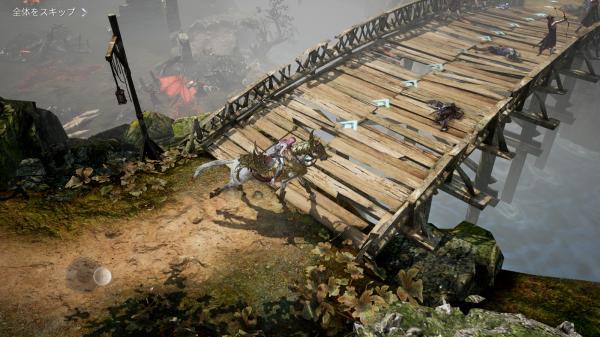 スマホRPG『ブレスモバイル』のフィールド