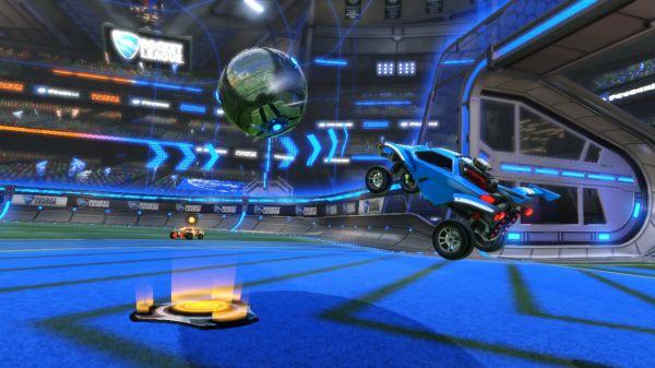 スイッチ版ロケットリーグのゲーム画像