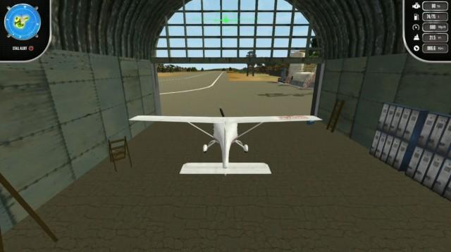 Island Flight Simulatorの初フライト