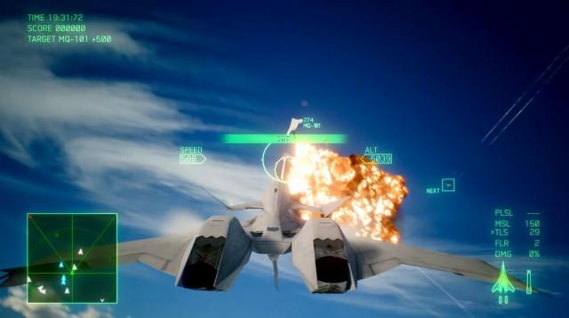 ACE COMBAT 7: SKIES UNKNOWNの飛行機ゲーム画像