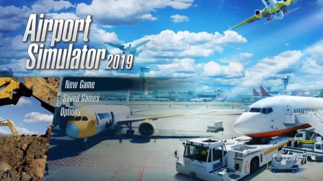 Airport Simulator 2019のタイトル