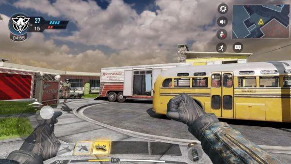 Call of Dutyの対戦シーン