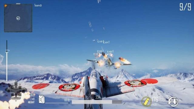DOGFIGHTER -WW2-の飛行機ゲーム画像